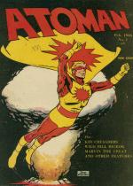 Cover For Atoman Comics