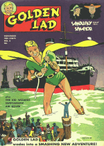 Cover For Golden Lad