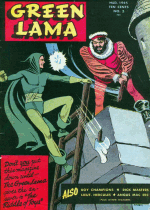 Cover For Green Lama