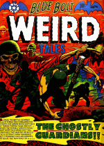 Cover For Blue Bolt Weird Tales of Terror