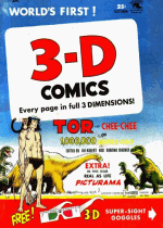 Cover For 3-D Comics