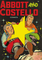 Cover For Abbott and Costello Comics