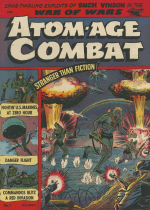 Cover For Atom-Age Combat