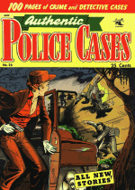 Cover For Authentic Police Cases