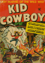 Cover For Kid Cowboy