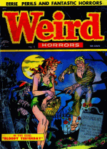 Cover For Weird Horrors