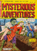 Cover For Mysterious Adventures
