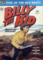 Cover For Billy the Kid