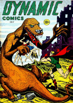 Cover For Dynamic Comics