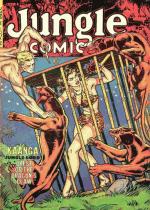 Cover For Jungle Comics