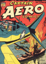 Cover For Captain Aero Comics