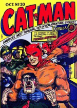 Thumbnail for Cat-Man Comics