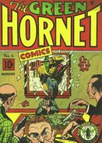 Cover For Green Hornet Comics