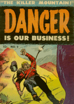 Cover For Danger Is Our Business