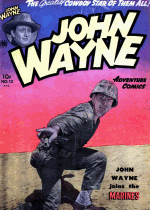 Cover For John Wayne Adventure Comics