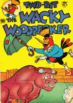 Cover For Two-Bit the Wacky Woodpecker