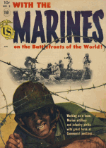 Cover For With the Marines