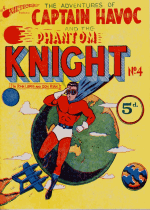 Cover For The Adventures of Captain Havoc and The Phantom Knight
