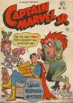 Cover For Captain Marvel Jr.