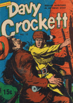 Cover For Fearless Davy Crockett