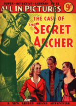 Cover For Super Detective Library