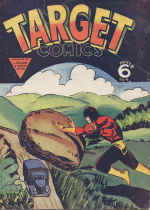 Cover For Target Comics