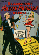 Cover For Blackstone Master Magician Comics