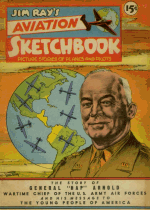Cover For Jim Ray's Aviation Sketchbook