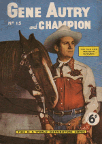 Cover For Gene Autry and Champion