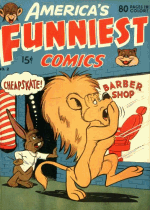 Cover For America's Funniest Comics