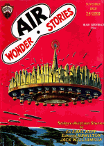 Cover For Air Wonder Stories