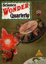 Cover For Science Wonder Quarterly