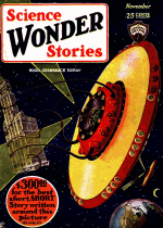 Cover For Science Wonder Stories