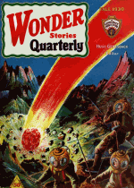 Cover For Wonder Stories Quarterly