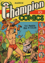Cover For Champion Comics