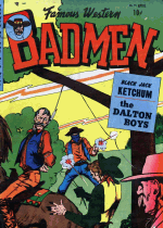 Cover For Famous Western Badmen