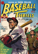 Cover For Baseball Thrills