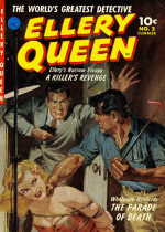 Cover For Ellery Queen