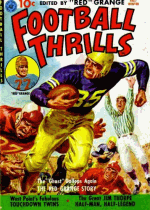 Cover For Football Thrills