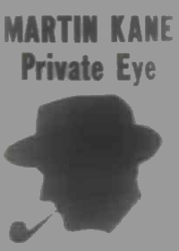 Large Thumbnail For Martin Kane, Private Eye
