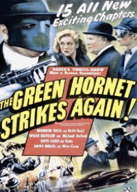 Large Thumbnail For The Green Hornet Strikes Again!
