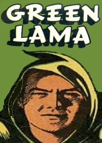 Large Thumbnail For The Green Lama