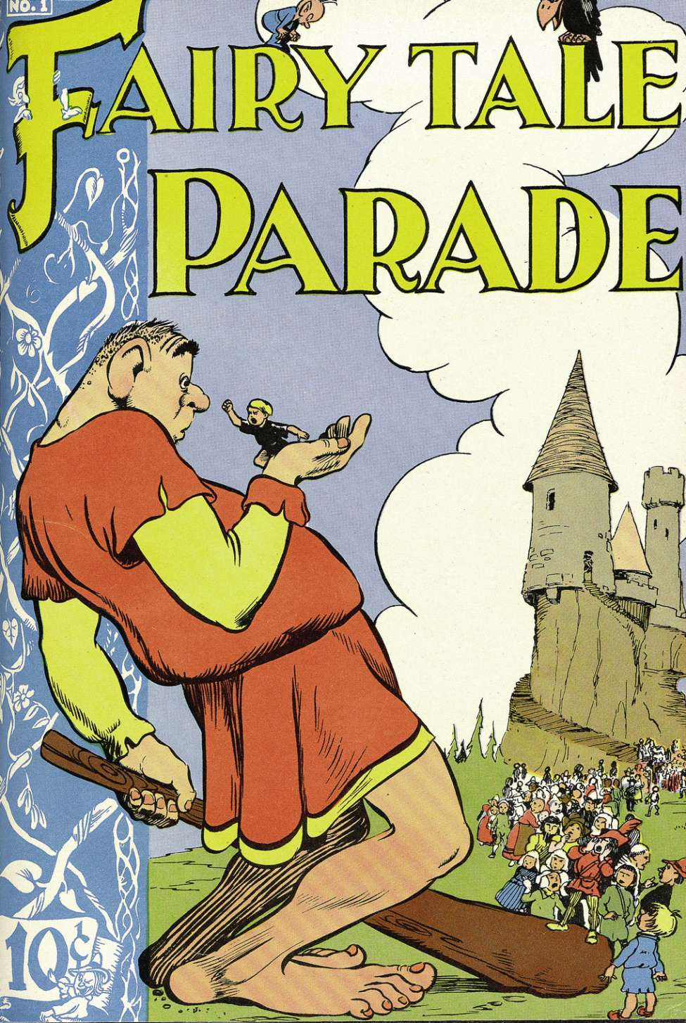 Comic Book Cover For Fairy Tale Parade #1