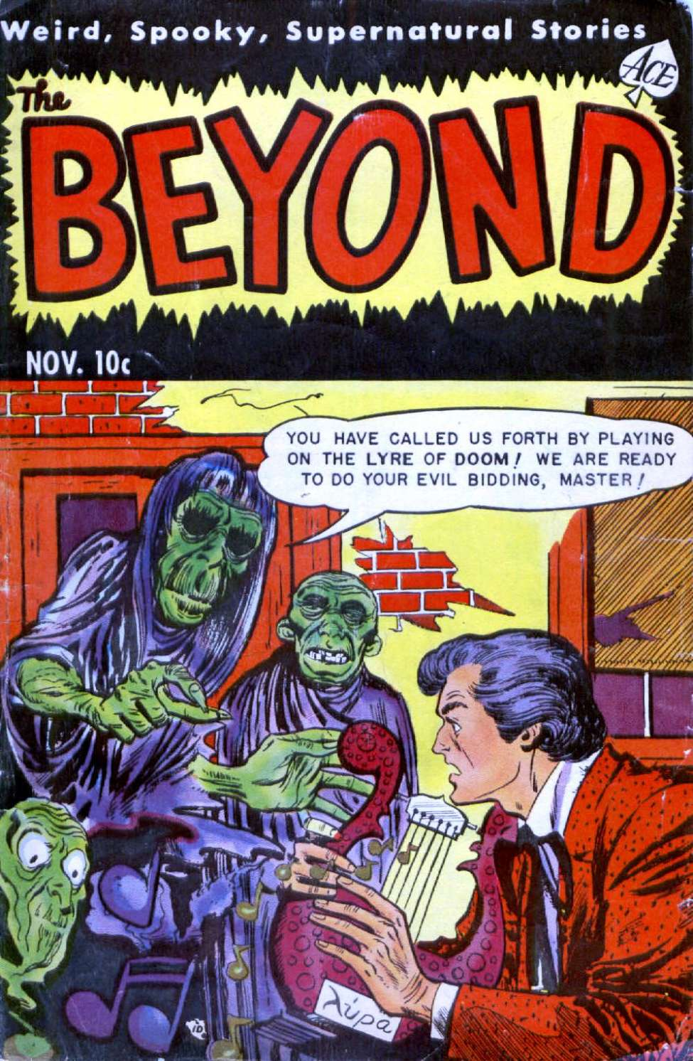 Comic Book Cover For The Beyond #17