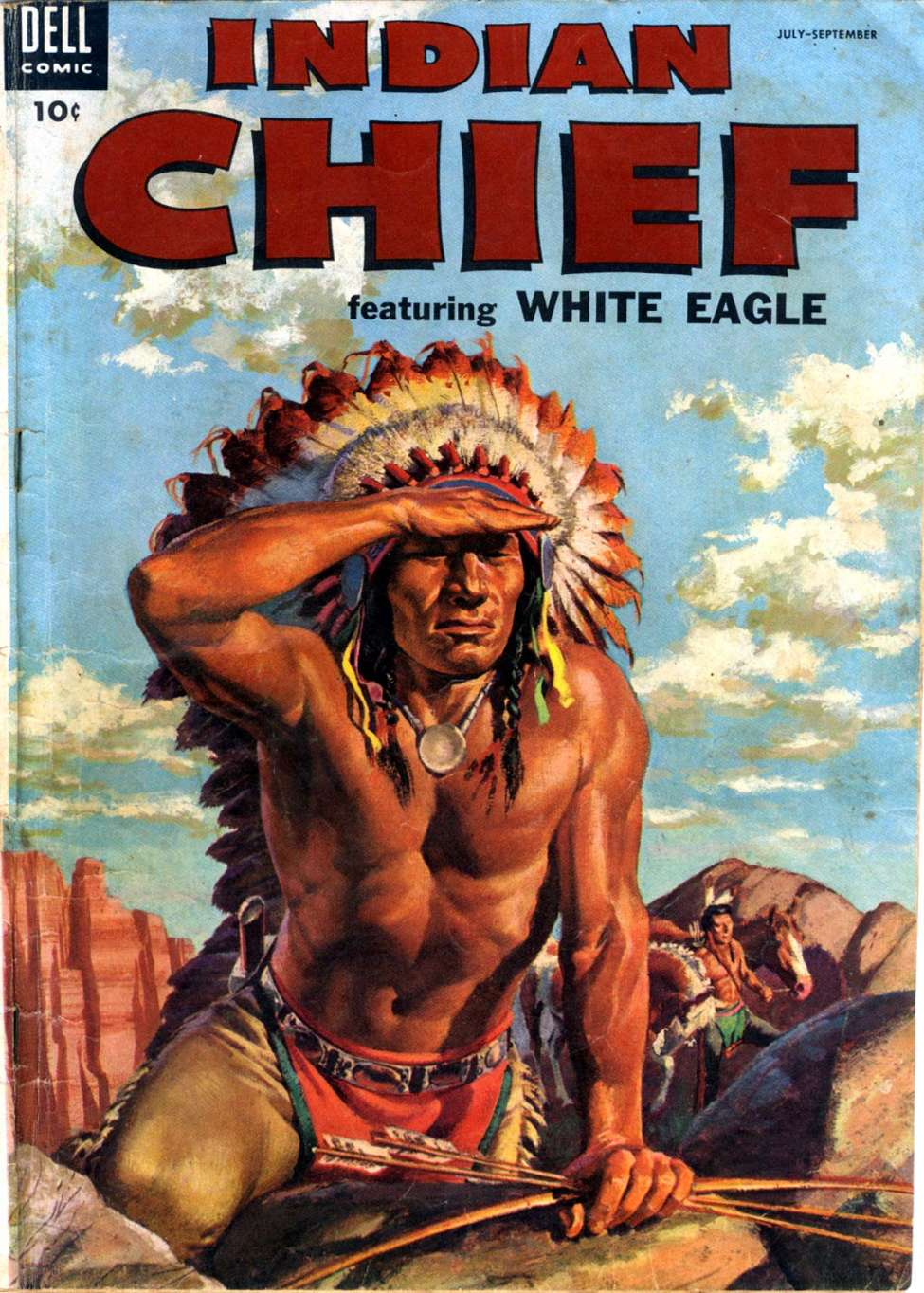 Comic Book Cover For Indian Chief #15