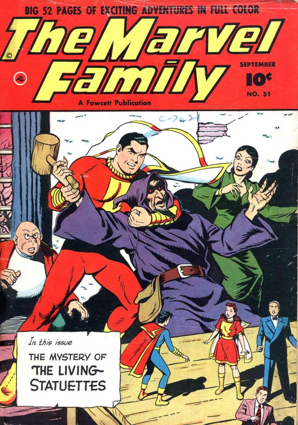 The Marvel Family #51 (Fawcett) - Comic Book Plus