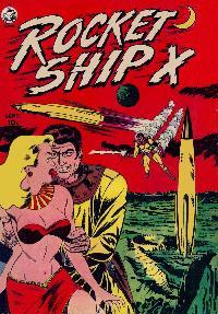 Large Thumbnail For Rocket Ship X #1