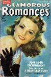Cover For Glamorous Romances 48