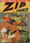 Cover For Zip Comics 12