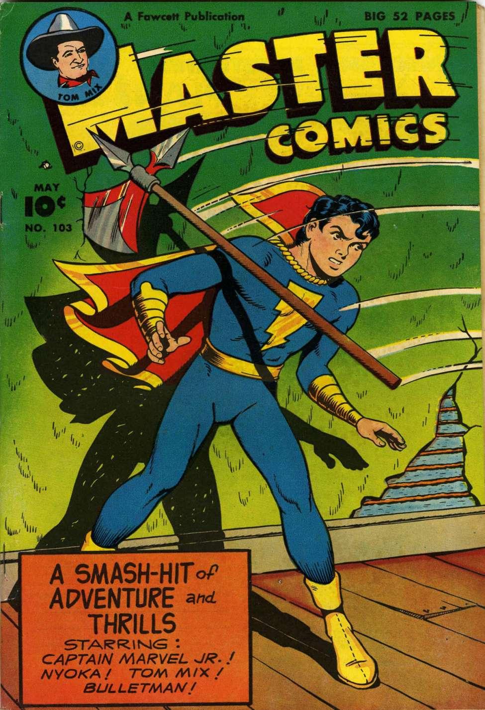 Comic Book Cover For Master Comics #103